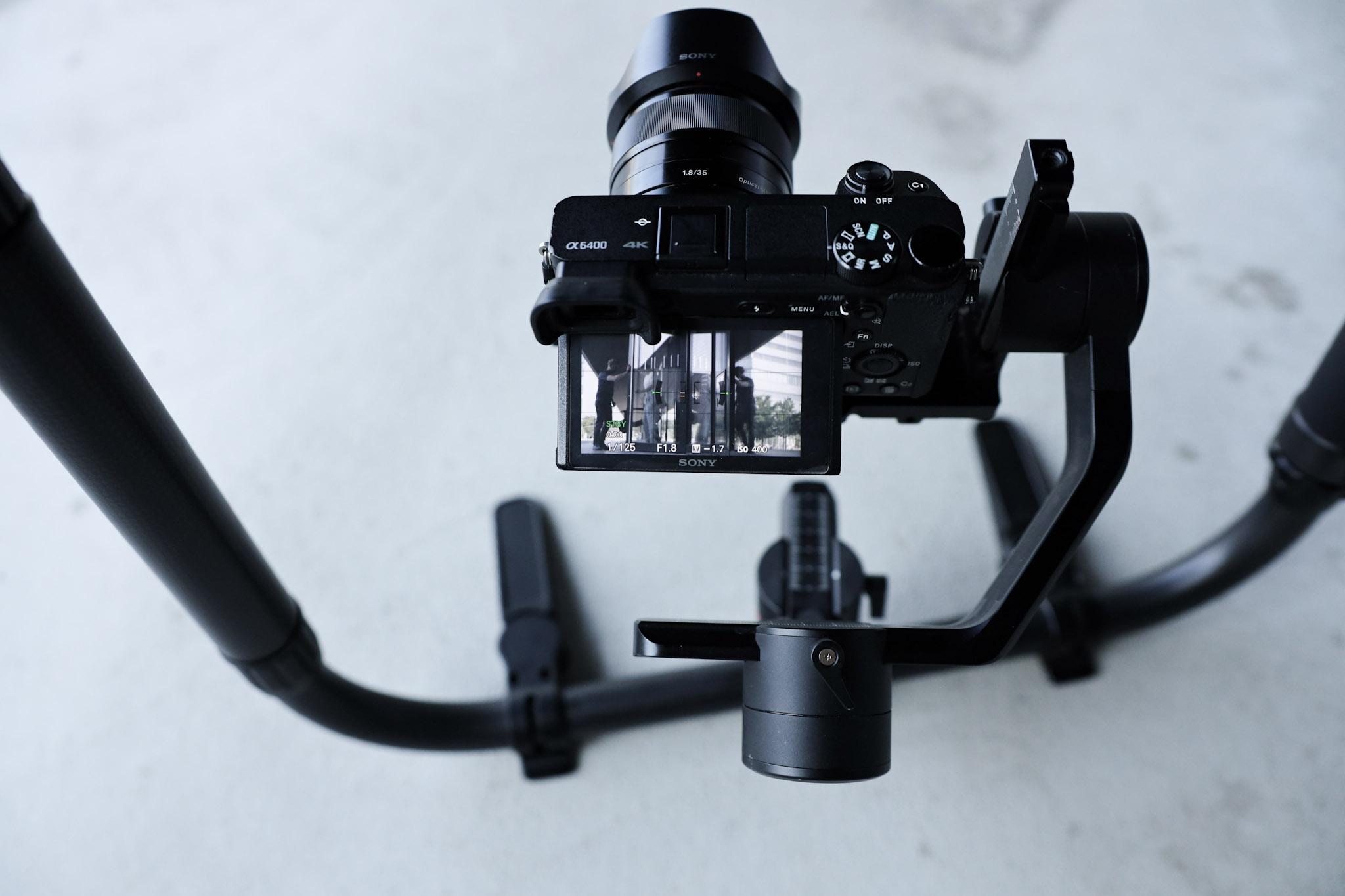 Kamera und Gimbal