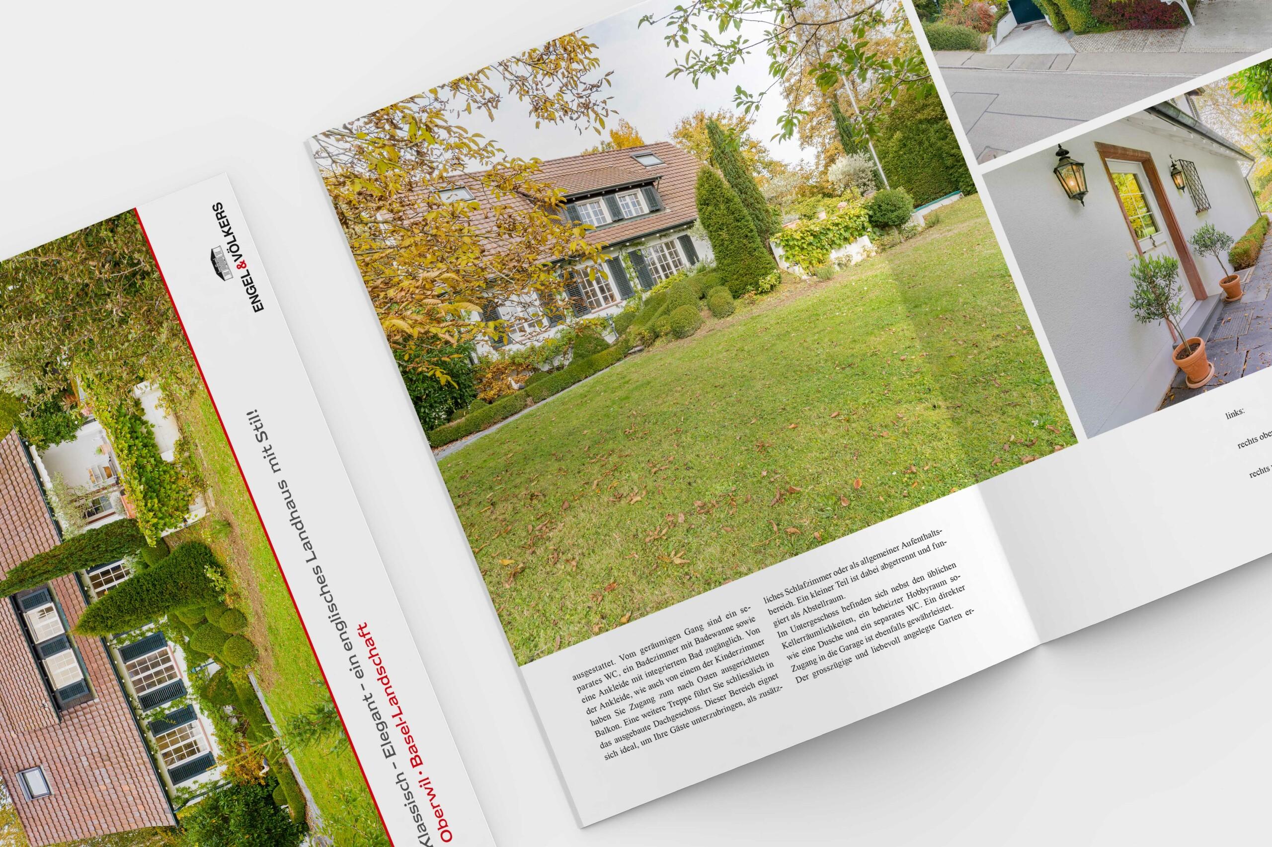 Mock Up Portfolio Engel und Völkers by doyou - we do marketing basel