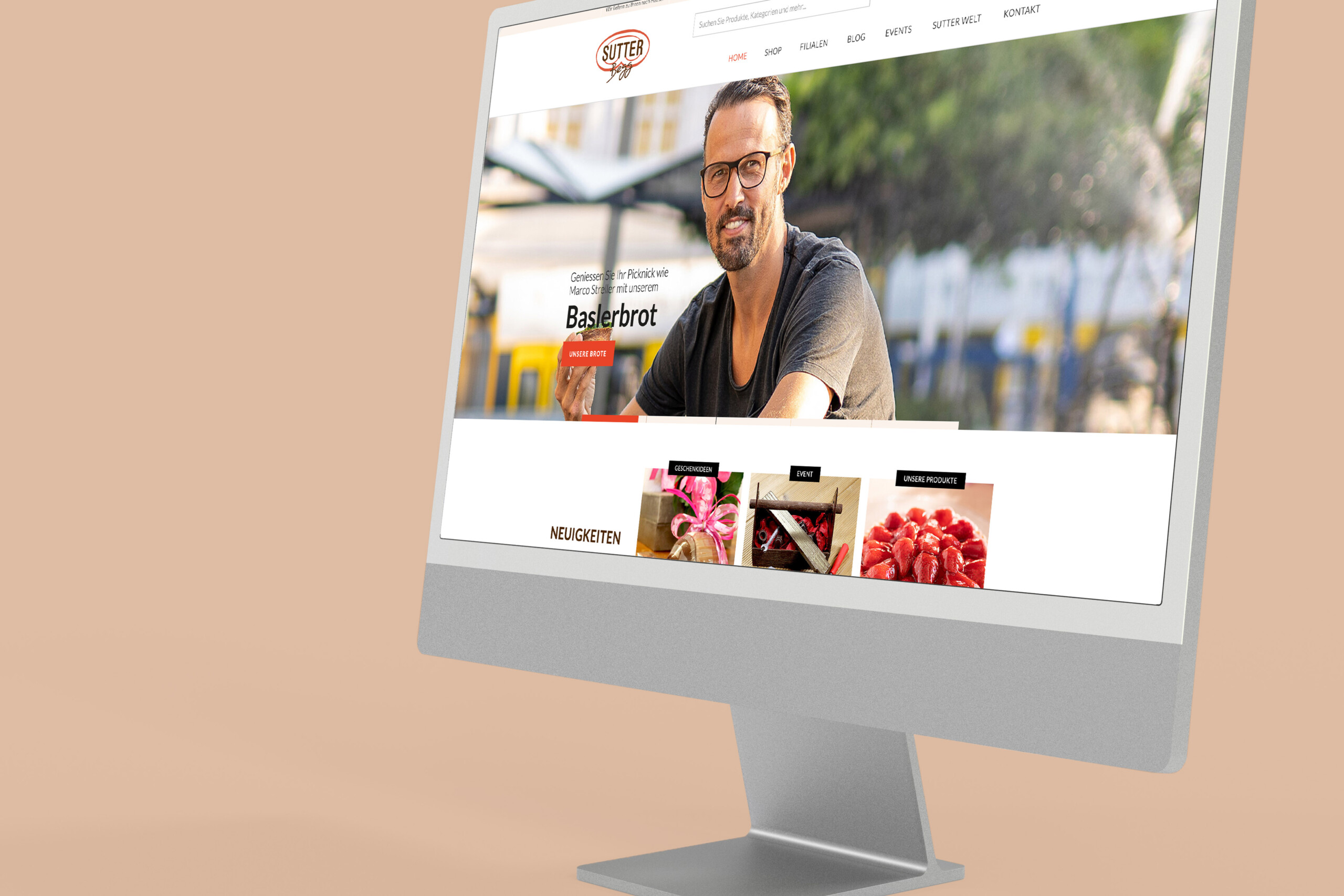 Mock Up Sutter Begg Wesebite by doyou - we do marketing basel